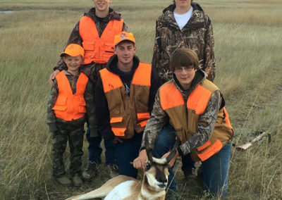 Crooked Creek Outfitters 2014 Antelope Hunts