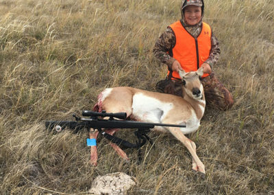 Crooked Creek Outfitters 2017 Antelope Firearm Hunt